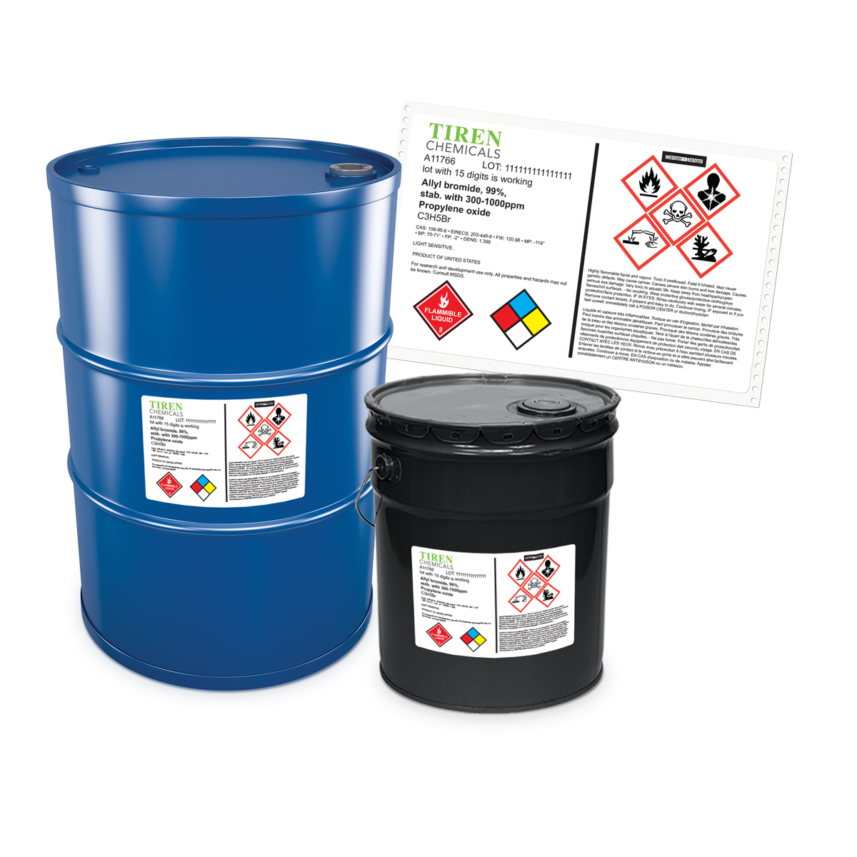 Labels for Chemicals